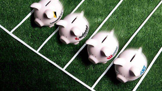bank pig race