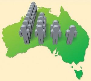 aust population