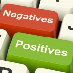 negative positive
