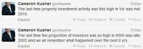 Investor activity spiralling