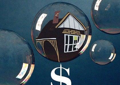 """Property bubble"""" in Australia"""