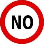 """""""No"""" zones"""